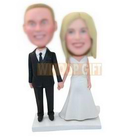 custom made cake topper for wedding