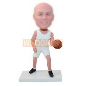 custom-built basketball player bobbleheads
