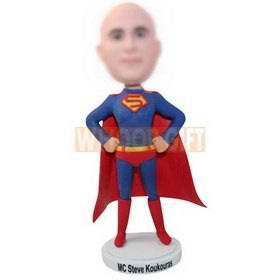 personalized custom superman bobblehead funny gift