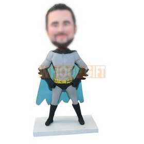 personalized super hero batman bobblehead custom made