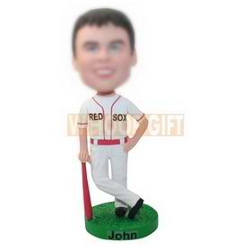 custom red sox baseball player bobbleheads