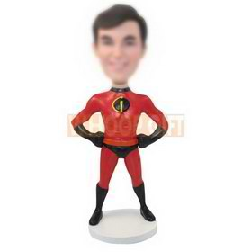personalized custom superhero bobbleheads