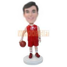 personalized custom basketball figurine bobbleheads