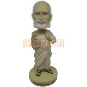 personalized philosopher socrates style bobbleheads