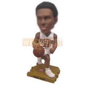personalized NBA player detroit city pistons bobbleheads