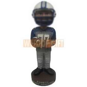 personalized custom football player bobbleheads