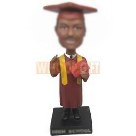 personalized custom graduation souvenir bobbleheads
