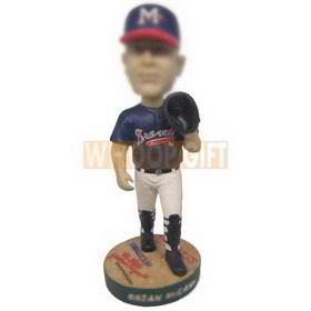 personalized custom baseball player bobbleheads