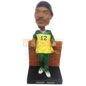 personalized custom rap superstar style bobbleheads