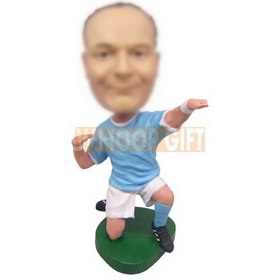 personalized custom soccer player bobbleheads