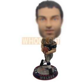 personalized custom NFL player bobbleheads