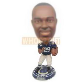 personalized footballer football player bobbleheads