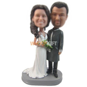 personalized custom special wedding bobbleheads