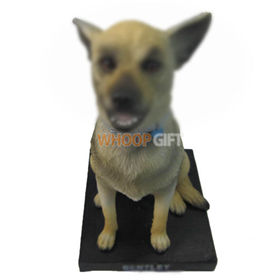 custom your puppy figurine bobbleheads