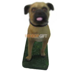 custom your dog figurine bobbleheads
