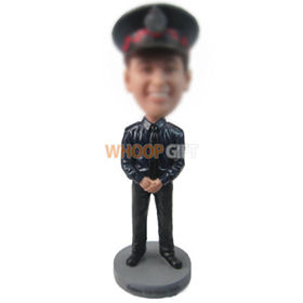 personalized custom policeman bobbleheads