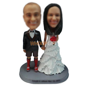 personalized custom funny wedding cake topper