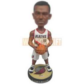 Custom bobblehead portland blazers basketball player