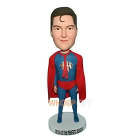 superman in red cappa bobblehead