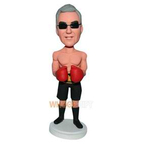 strong muscle boxing man custom bobblehead
