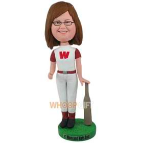the T-shirt woman bobbleheads
