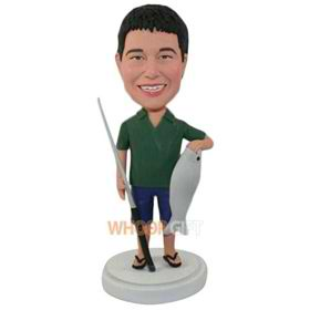 the fishing man bobbleheads