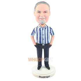 the stripe man bobbleheads