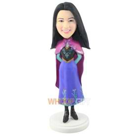 the costume of woman bobbleheads