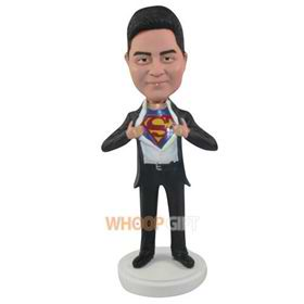 the superman bobbleheads