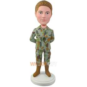the soldier bobbleheads