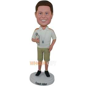 the coach man bobbleheads