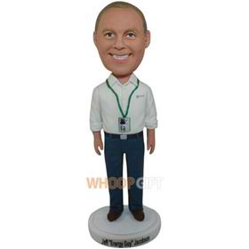 the white man bobbleheads