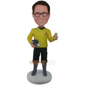 the yellow man bobbleheads
