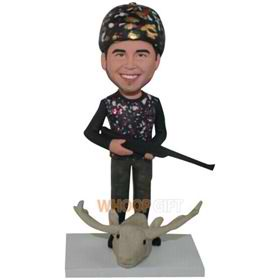 the hunter bobbleheads