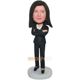 the suit woman bobbleheads