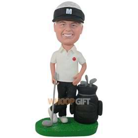 the golf man bobbleheads