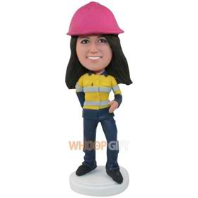 the woman organizer bobbleheads