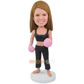 the woman boxer bobbleheads