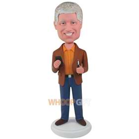 the brown clothes man bobbleheads